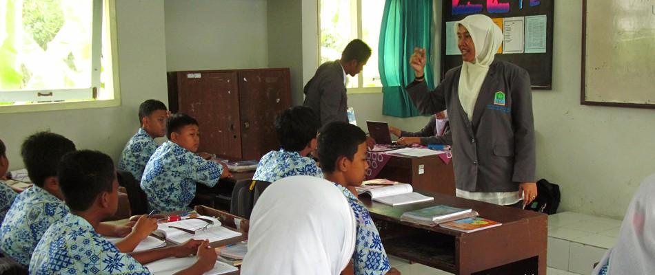 Kunjungan Praktik Mengajar SMPN/MTSN Kabupaten Aceh Jaya