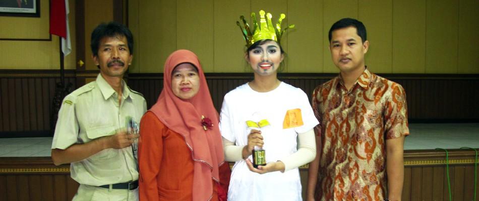 Nabiyya Perennia, Roro Jonggrang Spensaka Menuju FLS2N SMP 2014 Nasional