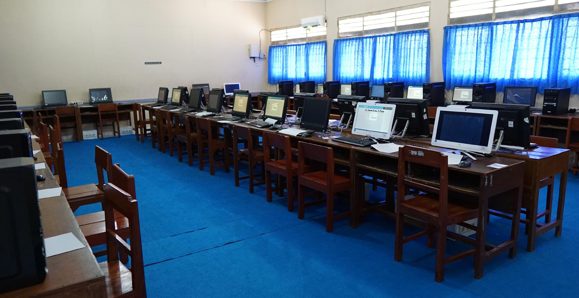 Laboratorium ICT EQEP SMP Negeri 1 Kalasan