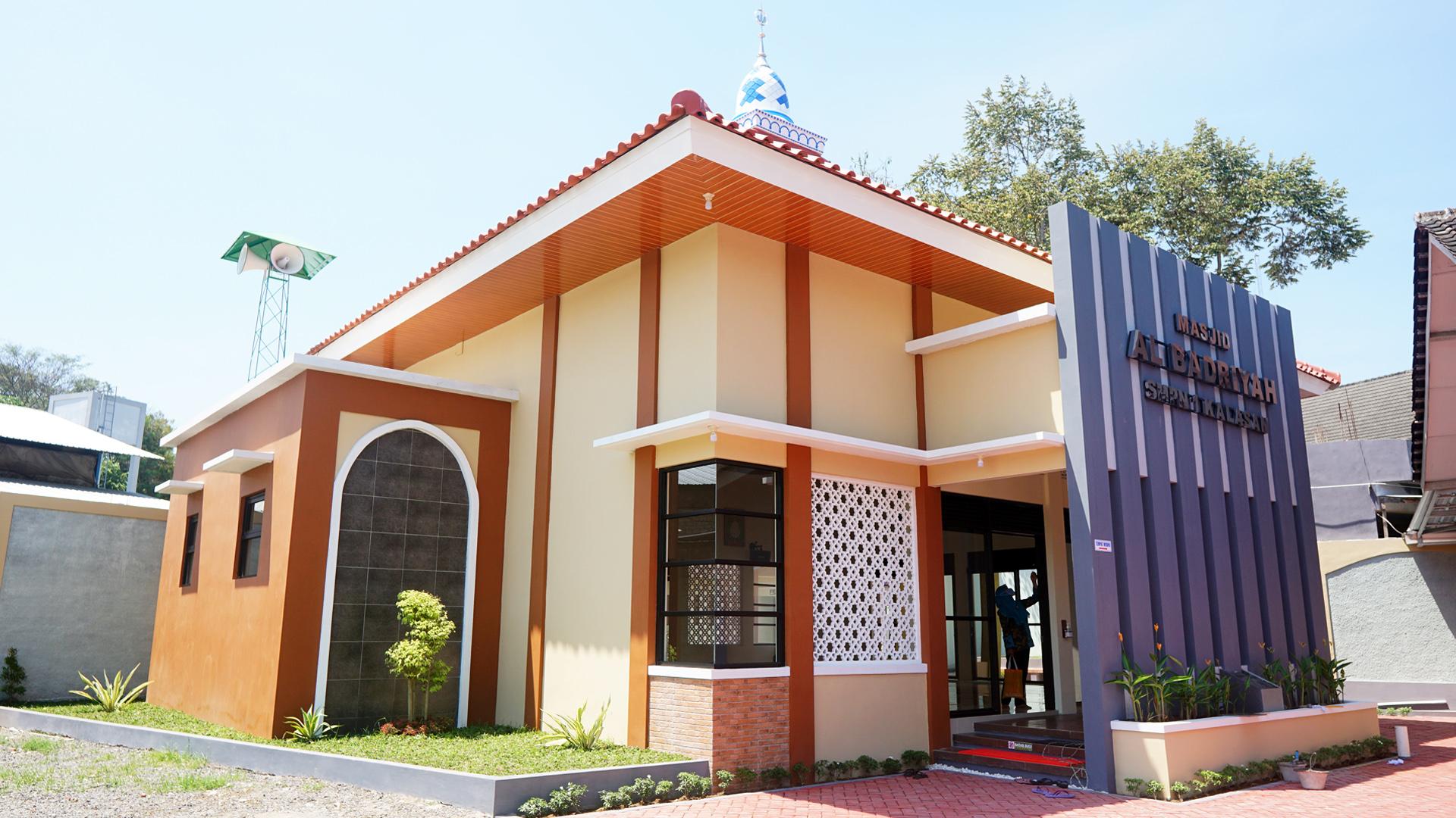 Masjid Al Badriyah SMP N 1 Kalasan
