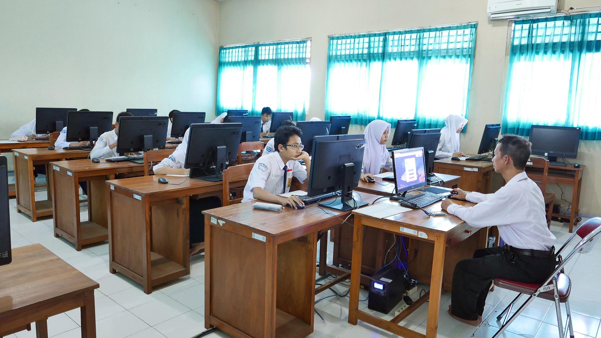 Laboratorium Bahasa SMP Negeri 1 Kalasan